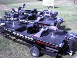 16' Aluma-Weld Express Bass Boat with 25 HP Nissan Motor